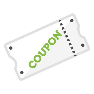 Spezieller Coupon