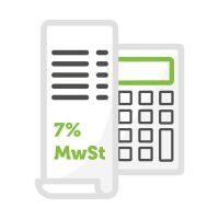 7% MwSt.
