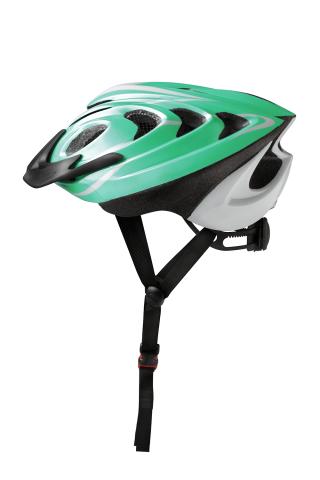 Damen-Fahrradhelm Kiwi hellgrün