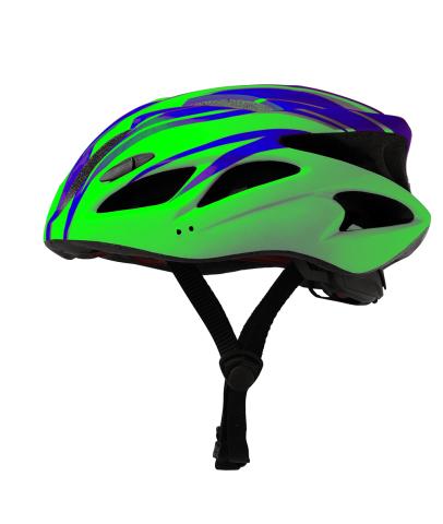 Herren-Fahrradhelm Rütli blau-grün