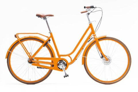 Damen-Cityrad Piz Palü orange 380 mm