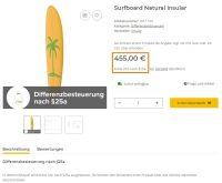 Surfboard Natural Insular
