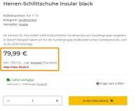 Herren-Schlittschuhe Insular black