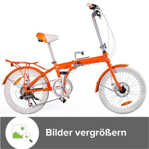 BMX-Freestyle Orange