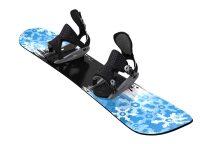Snowboard-Set Unisex blau 146 cm