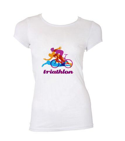 T-Shirt Triathlon - Damen / Herren