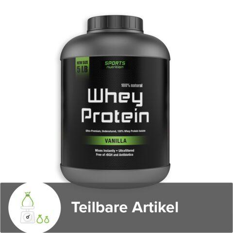 Whey Protein - Handgemacht und 100% Naturell
