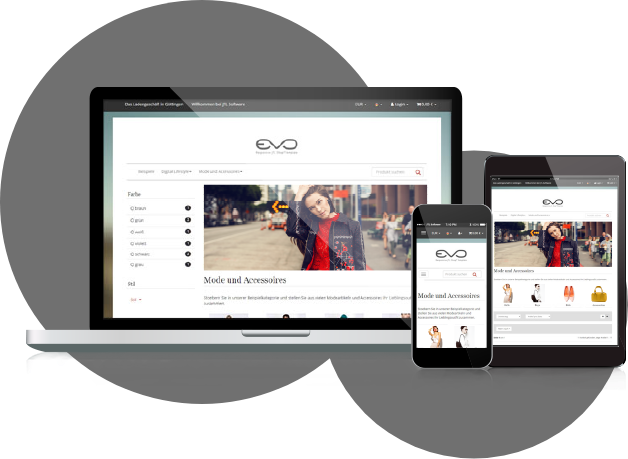 JTL-Shop Responsive Layout EVO Template